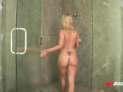 Bathing, Bath, Bathing, Bathroom, Big Tits, Blonde