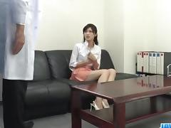 Sara Yurikawa, amateur girl, goes nasty on a fat dong