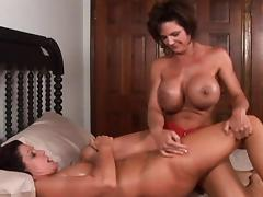 Busty Magdalene dissolves in absolute pleasure while her pussy pays host to Deauxma's fingers