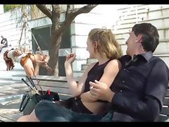 Public disgrace barcelona