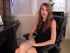 Kendra James nylon feet fantasy