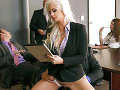 Holly Heart & Ramon in The Meeting - Brazzers