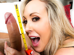 Brandi Love & Danny Mountain in Huge Cock For Hire - Brazzers