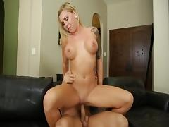 Fabulous pornstar Riley Reece in exotic blonde, hd porn scene