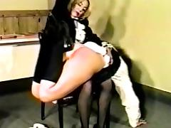 Spanked by the Female Teacher