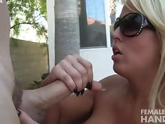 Alura Jenson Gives A Hand Job