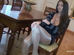 Pantyhose, Masturbation, Pantyhose, Pussy, Stockings