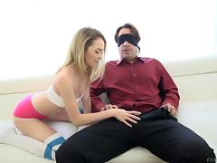 Teen and her tempting tight asshole fucked by a big cock