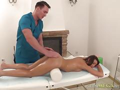 She's knew that the massage will eventually go very naughty and wild