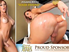 Juliana Souza in Souza Stuffing - TransAtPlay