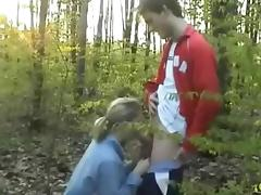 Blowjob, Amateur, Blowjob, Outdoor, Forest, Jungle