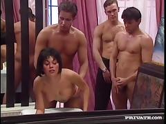 Bar, Banging, Bar, Bukkake, Gangbang, Group