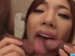Emi Sasaki, schoolgirl in heats, porn threesome cam show