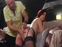 Crazy pornstar Charli Piper in fabulous spanking, redhead sex clip