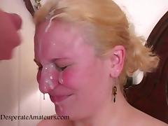Casting cumshot facials hot desperate amateurs need money le