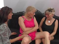 Marvelous horny granny lesbian licking her babe juicy pussy lovely