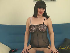 Belta in Masturbation Movie - AuntJudys