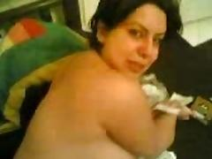 An Iraqian bbw milf fucked by her neighbour