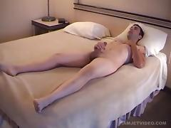 Amateur Straight Boy Jacob Jerks Off