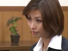 Seductive Japanese floozy Akari loves having her wet twat pounded