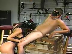 Fetish Slut Kimberly Teases Her Slave