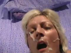 10 Amateur facial cumshots vol. 12