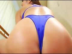 Big Butt Leotard Woman