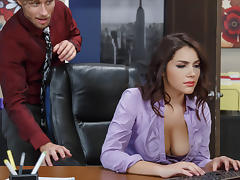 Valentina Nappi & Michael Vegas in All Natural Intern - Brazzers