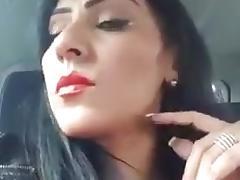 Beurette slut face voyeur