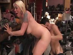 Exotic pornstar Lorelei Lee in horny blonde, brunette porn movie