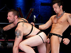 Jimmy Durano & Morgan Black in Sektor 9 Part 1 Scene