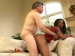 Interracial MMF Threesome Has This Black Chick Getting Sandwiched