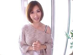 Slim Japanese screamer Akari loves sitting on top of dicks