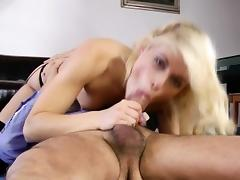 Old and Young, Babe, Beauty, Blonde, Blowjob, Classy