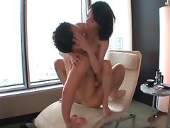 Endearing Asian pussy getting licked in couple compilations