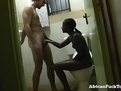 African, African, Amateur, Bath, Bathing, Bathroom