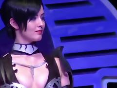 Sexy cosplay