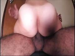 Hairy amateur wife esposa peluda grind cums