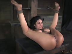 Big tited milf likes being a sex slave to earn some money