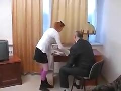STP3 Sexy Schoolgirl Gets Fucked By The Headmaster !