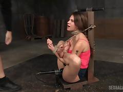 Bondage, Babe, BDSM, Blowjob, Bondage, Cute