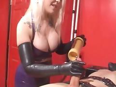 Goddess, Blonde, Latex, Penis, Goddess