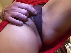 Sassy mature dame with big tits riding big cock hardcore