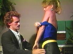 Retro porn shoot of blonde getting smashed hardcore missionary