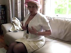Old Lady, Granny, Horny, Masturbation, Mature, Naughty