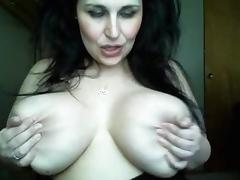 Brunette, Big Tits, Brunette, Webcam