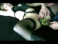 Bottle, Bottle, Fucking, Lingerie, Mature, Slut
