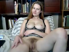 Xmas, Fingering, Hairy, Masturbation, Teen, Fur
