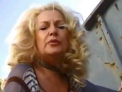Lady, Dirty Talk, German, Outdoor, Lady