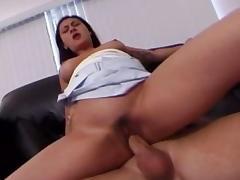 Crazy pornstar Alaura Eden in fabulous brunette, anal adult movie